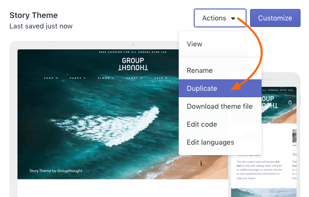 Story theme: Where to add CSS code changes - Story Documentation
