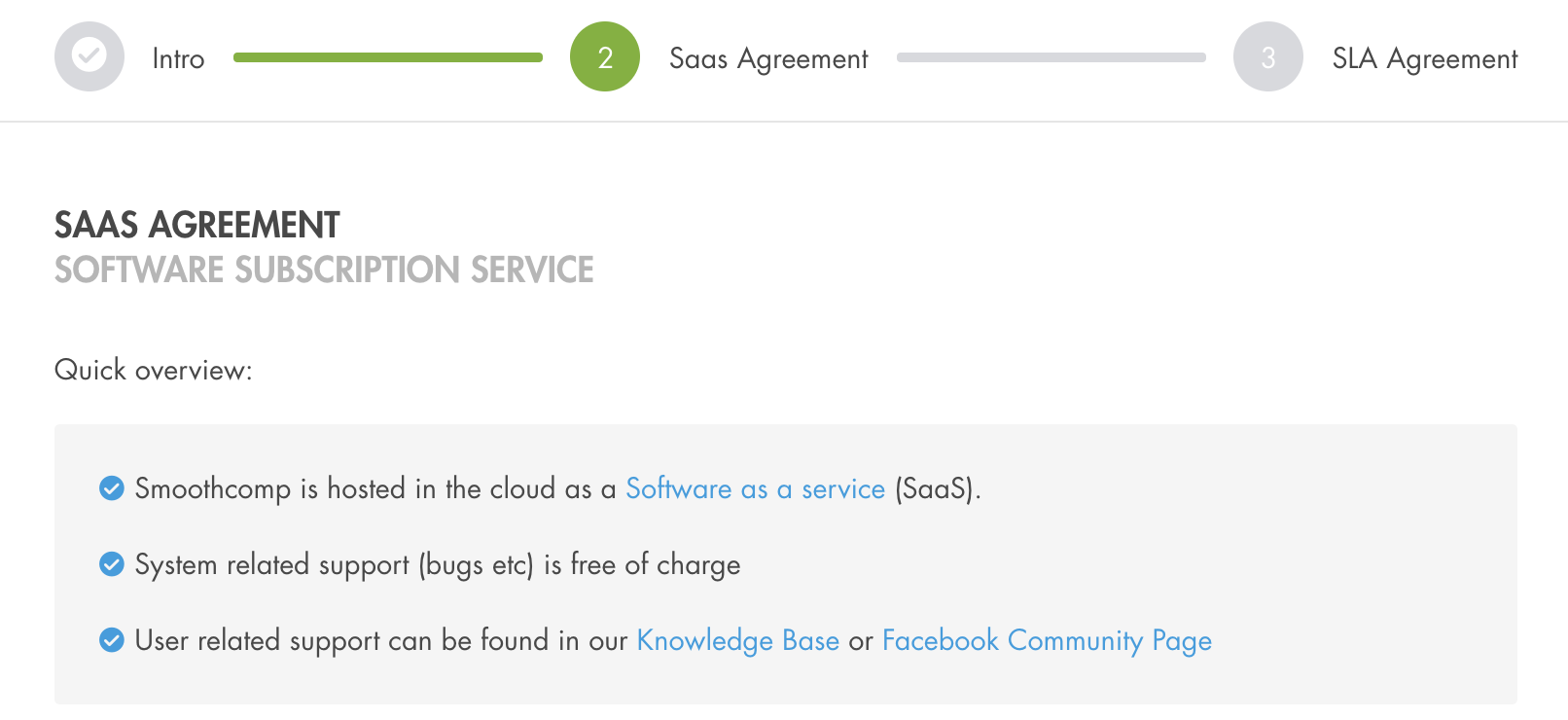 More Information About Our Saas And Sla Agreements Smoothcomp