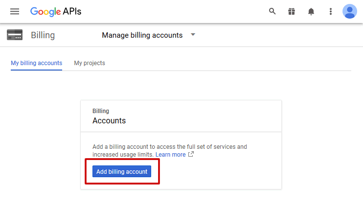 Setting up a billing account for Google Maps - Stockist Help