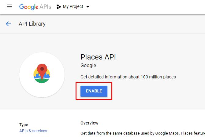 Verifying your Google Maps API Key - Stockist Help
