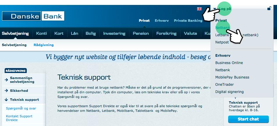 fælles konto danske bank
