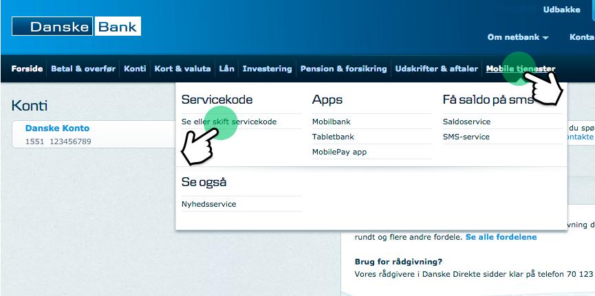 danske bank net