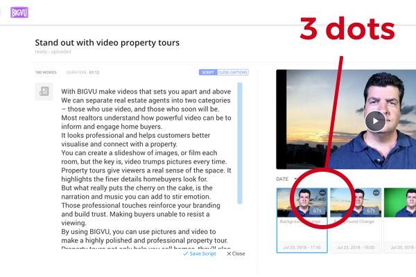 How do I add captions automatically? - BIGVU FAQ