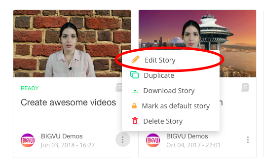 How to blend visuals with video presentations - BIGVU FAQ