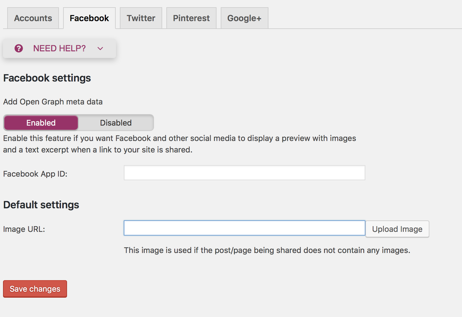 Setting your default image for Facebook Posts - Avoca Web Design