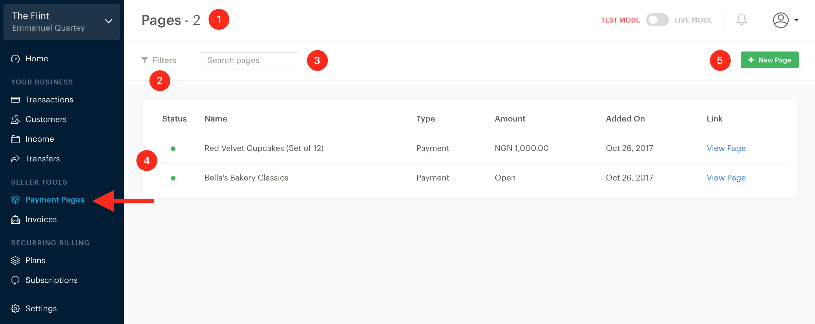 paystack payment pages paystack help desk