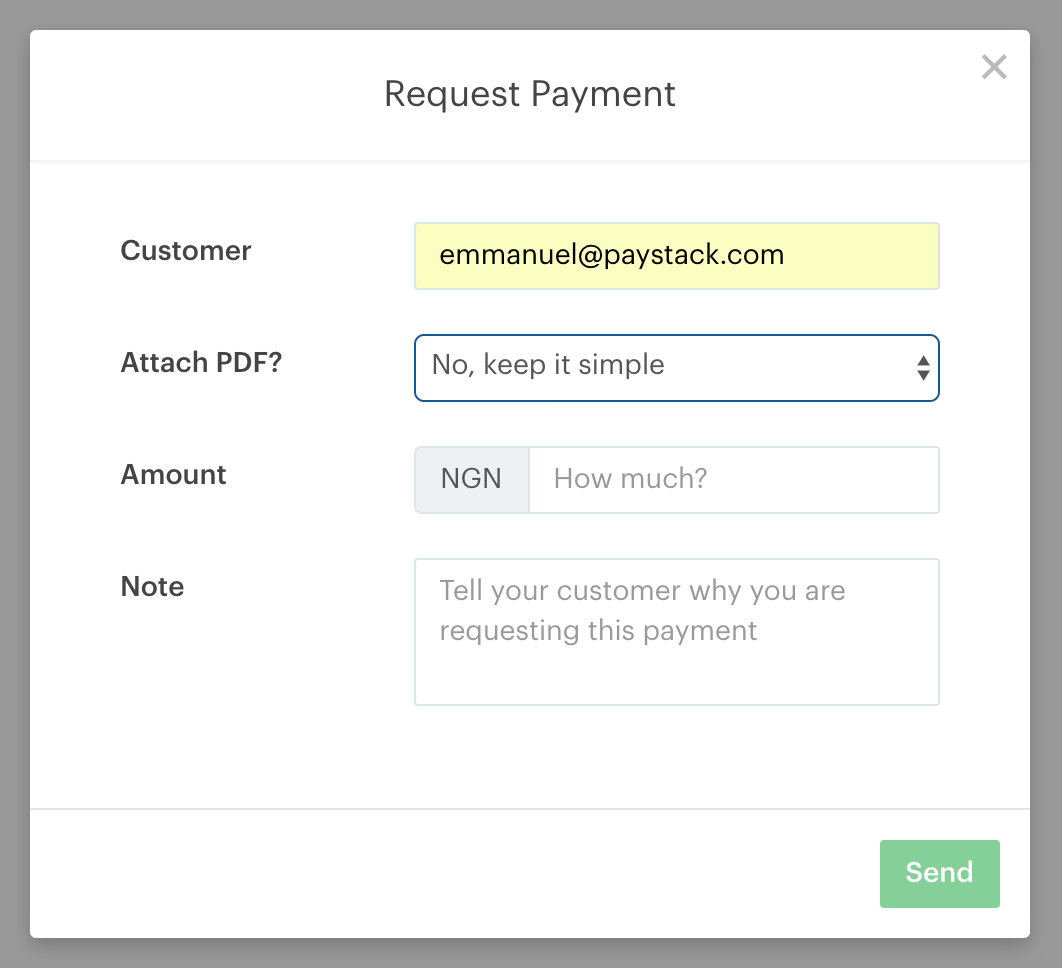Paystack Invoices Paystack Help Desk - Invoice simple review