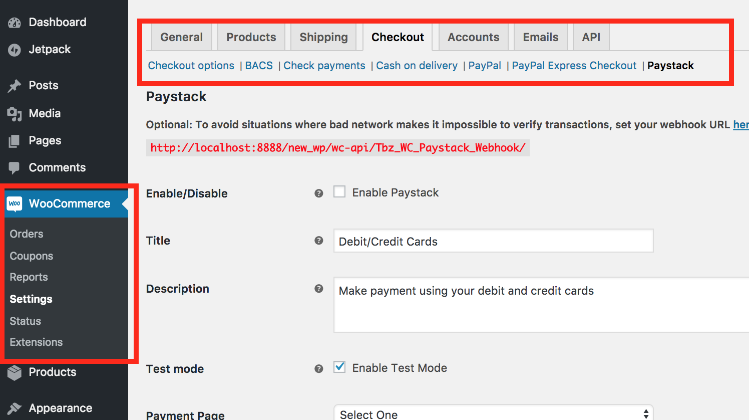 How to set up Paystack on WooCommerce - Paystack Help Desk