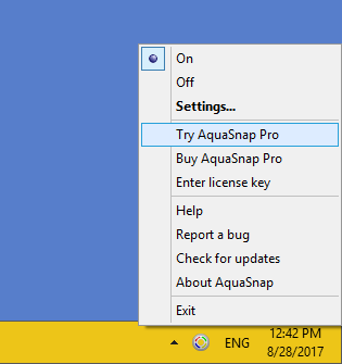 Try AquaSnap Pro