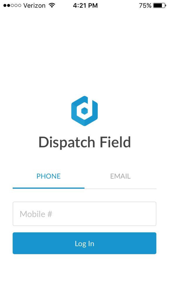 Logging in to Dispatch - Dispatch Help Center