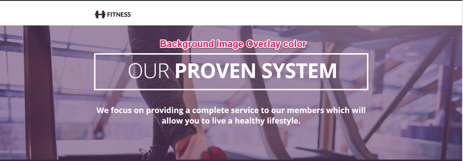 How To Customize The Background Image Overlay Color And Feature Box Opacity Color Of Shape Business Template Optimizepress 2 0 Knowledgebase