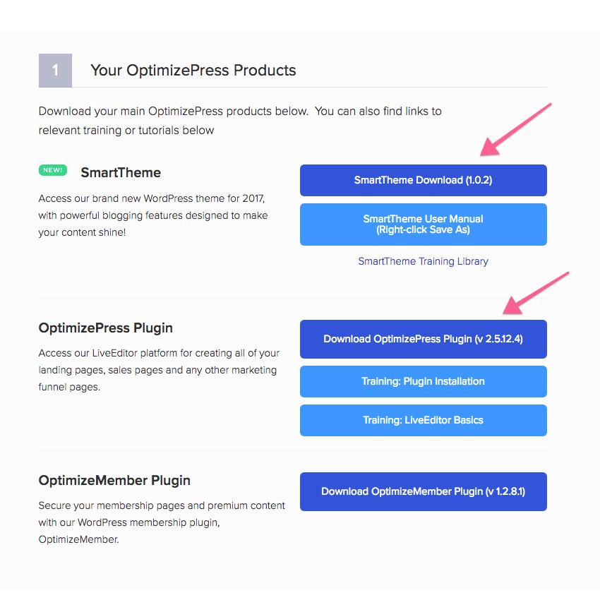 SmartTheme - Alternative Install Methods - OptimizePress Knowledge Base