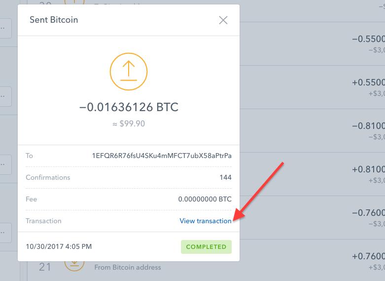 bitcoin payment slip