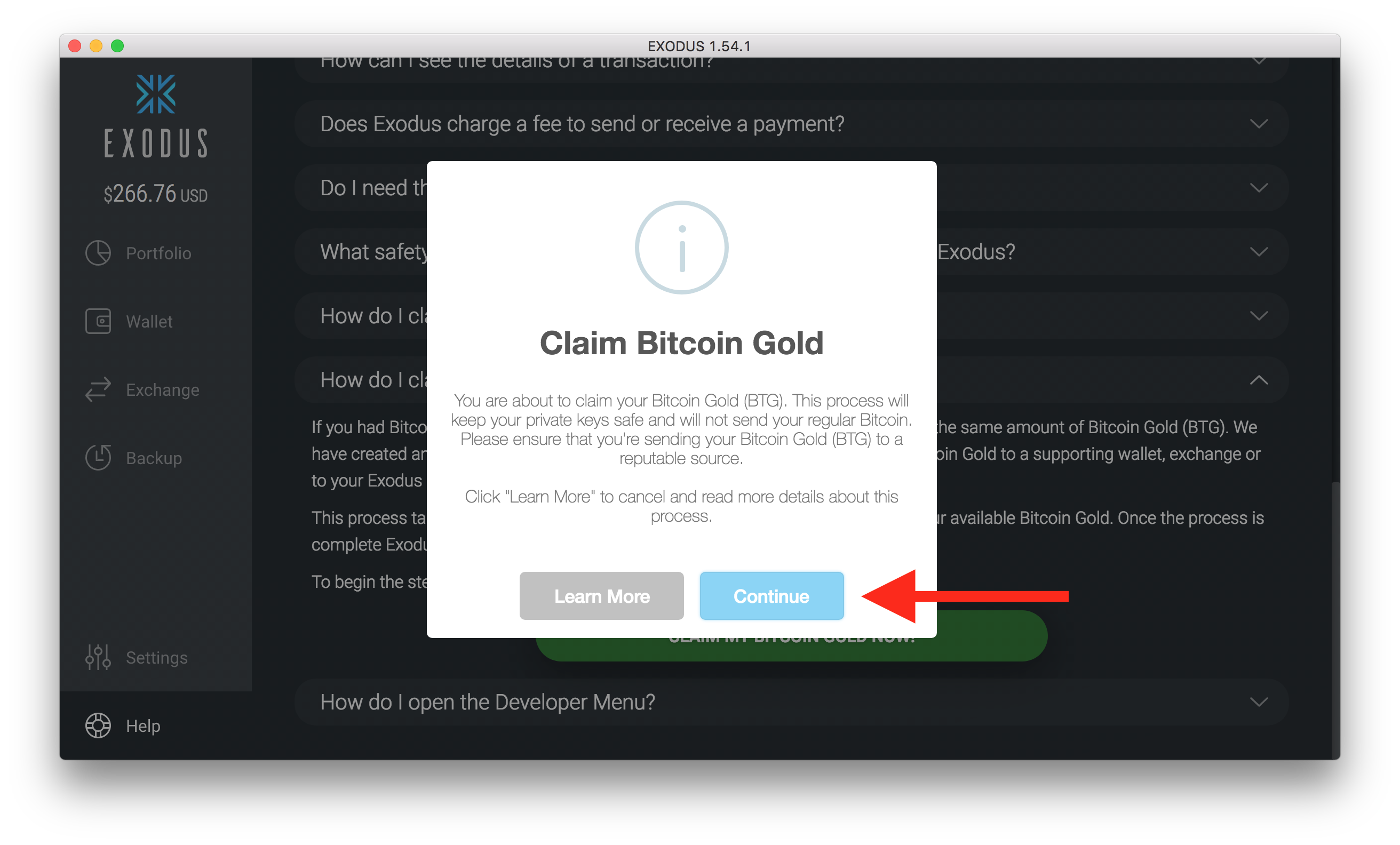 How do i claim bitcoin gold exodus knowledge base exodus will also auto populate this field with your current exodus bitcoin gold ccuart Gallery