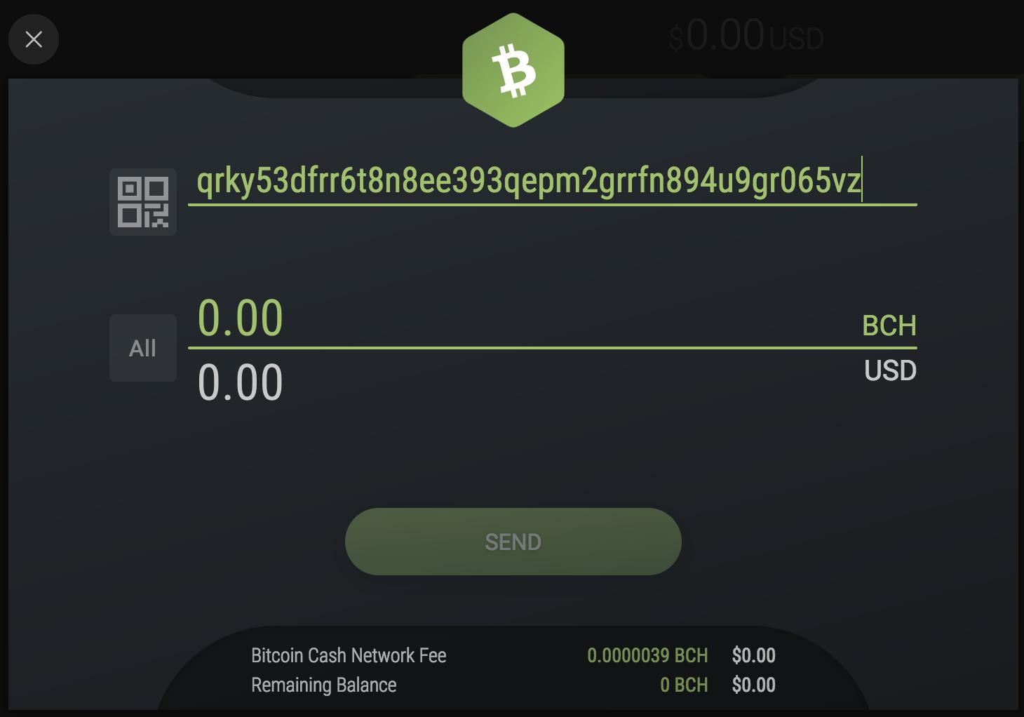 bitcoin cash address format exodus knowledge base