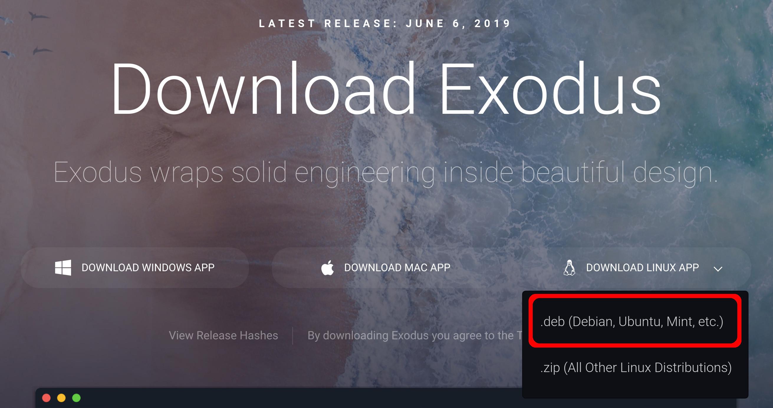 How do I install Exodus? - Exodus Support