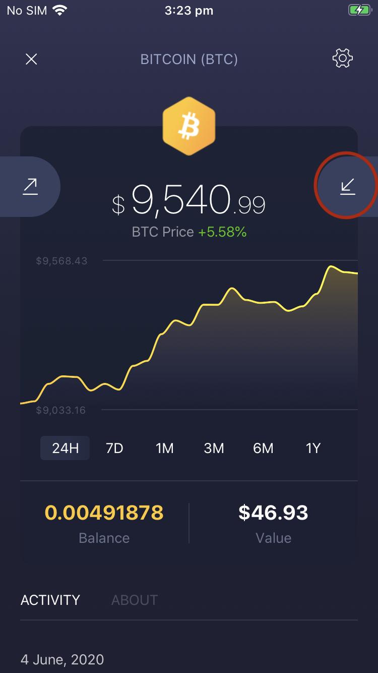 Gauti bitcoin piniginės adresą - Bitcoin valiuta, kursas