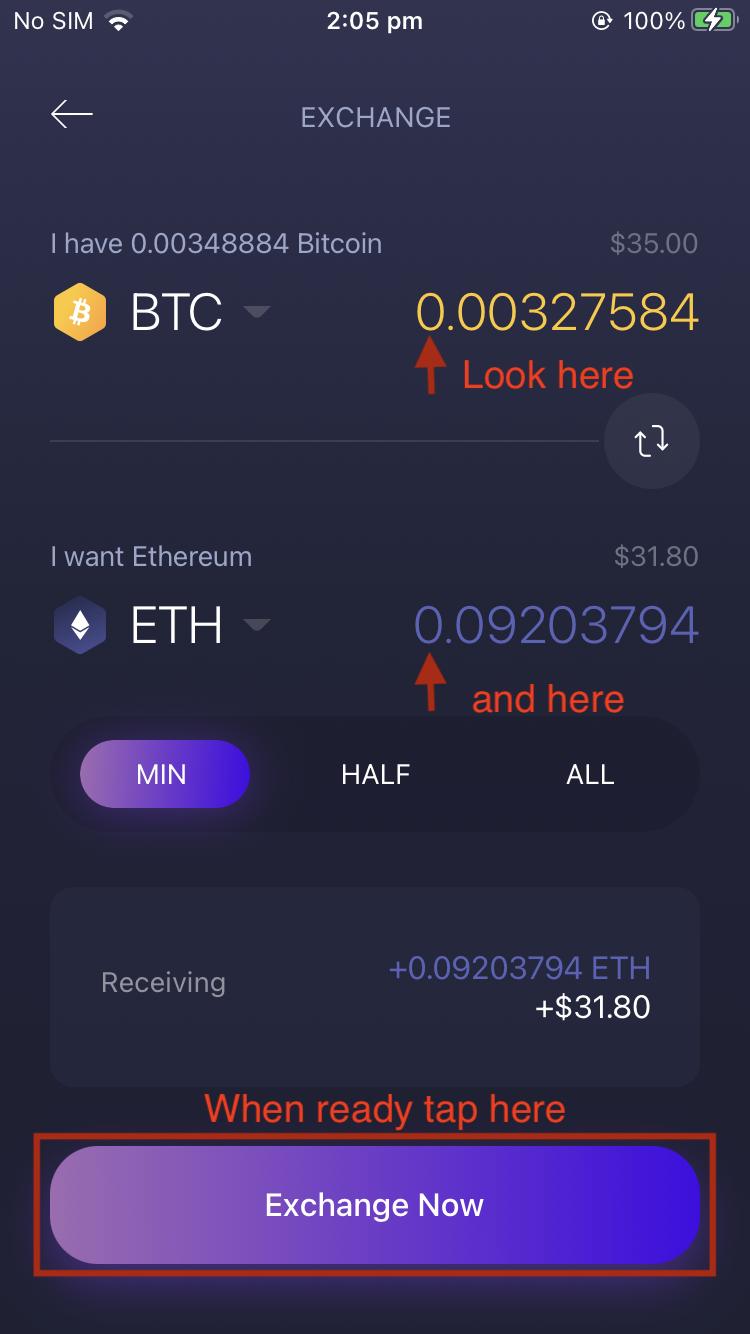 exchange mokėtojas į bitcoin)