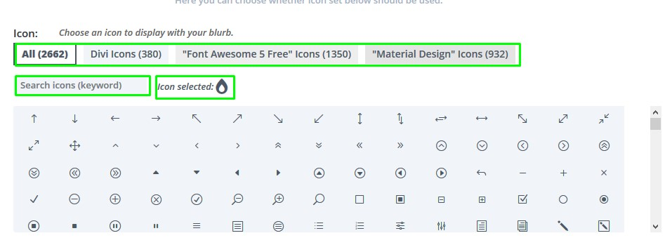 How to add more icons to Divi - Knowledge Base and FAQ