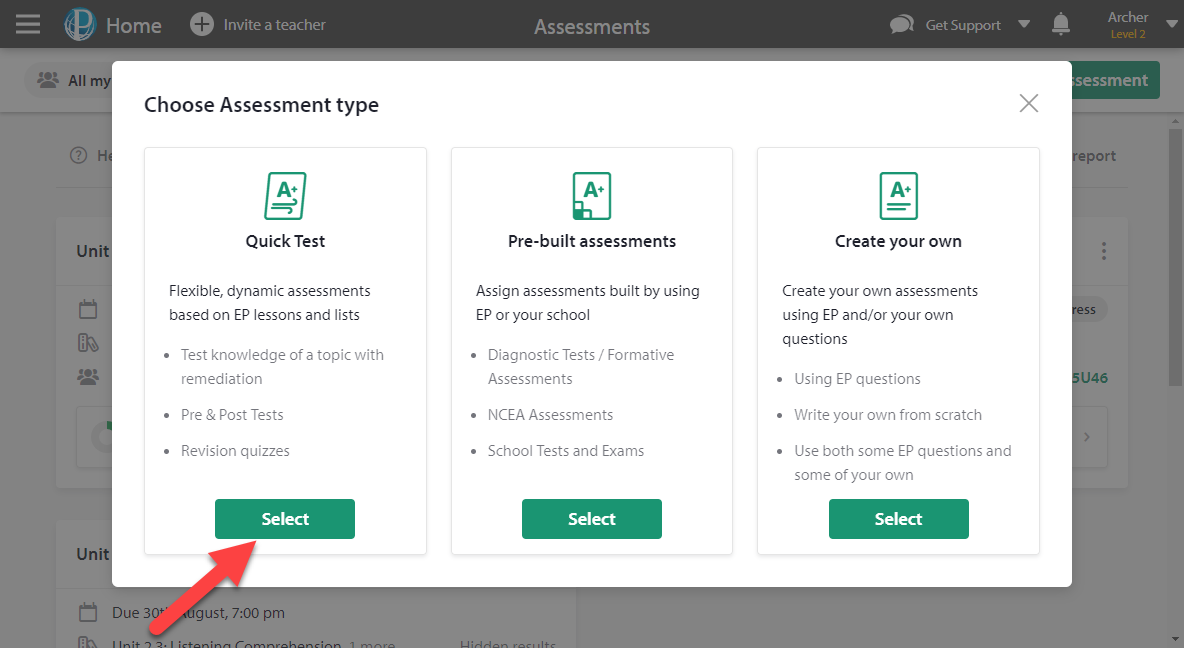 What worksheets can I print from Education Perfect? - Education