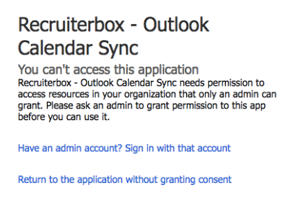 How to sync Recruiterbox with your Outlook Calendar
