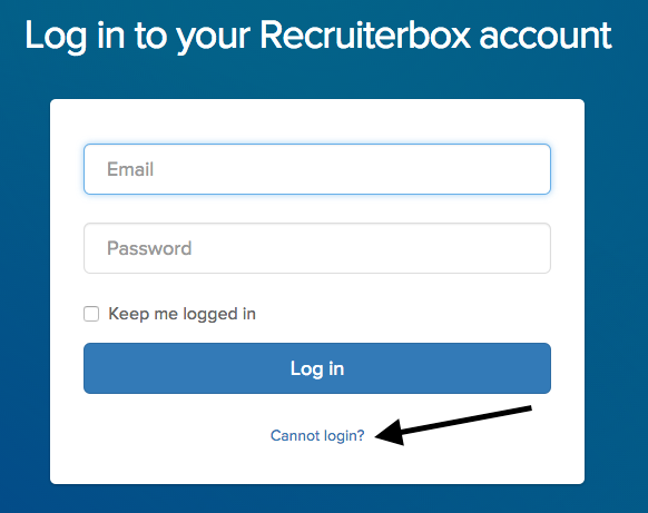 Changing your Password - Recruiterbox Knowledge Base