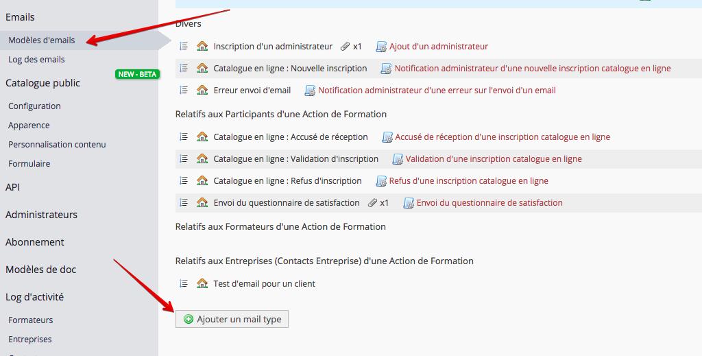 Configuration Des Modeles D Emails Et Suivi De Vos Emails Dendreo Faq