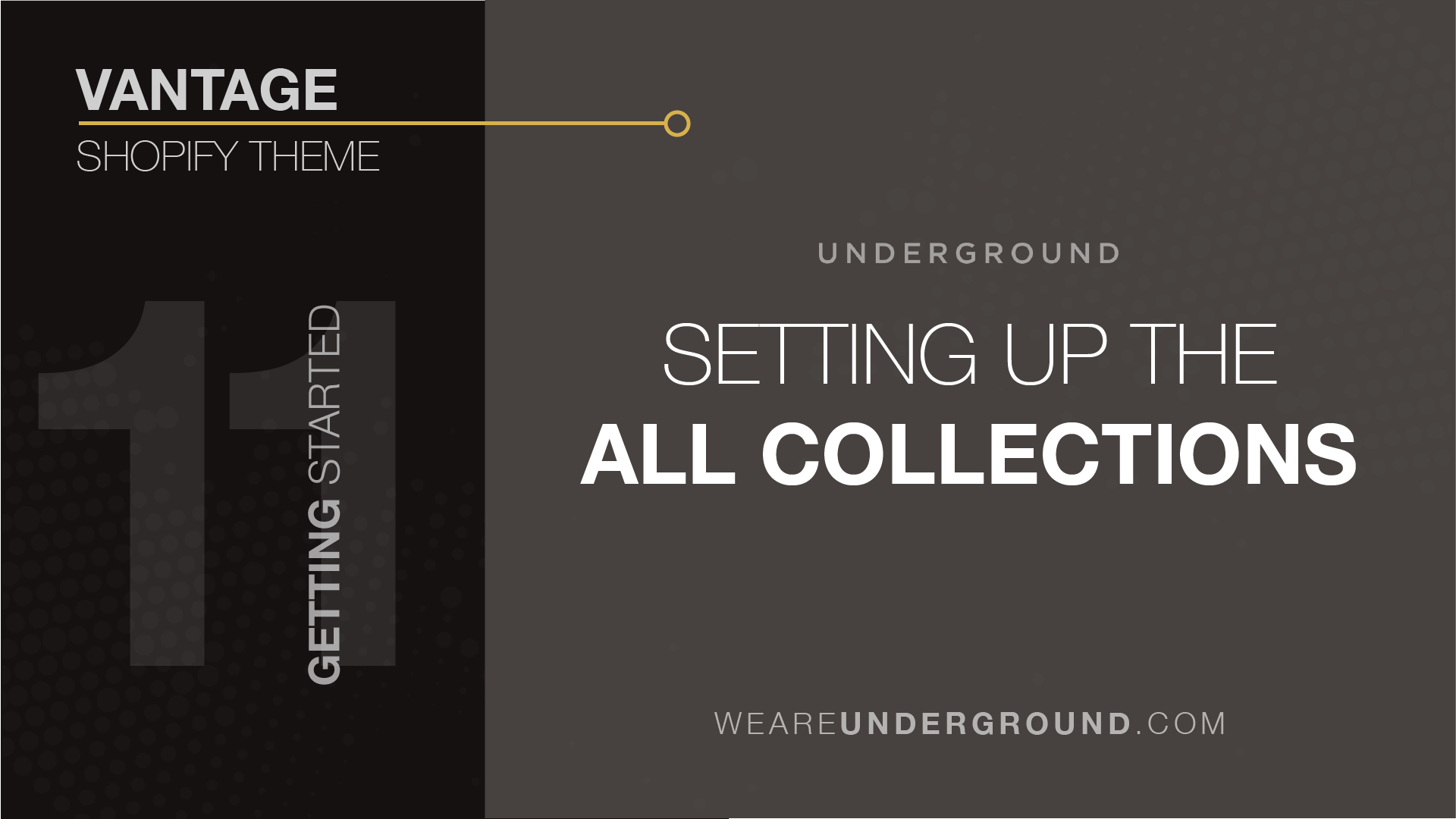 100c1b2b745a 11. Vantage Theme: Setting up the All Collections Page - We are ...