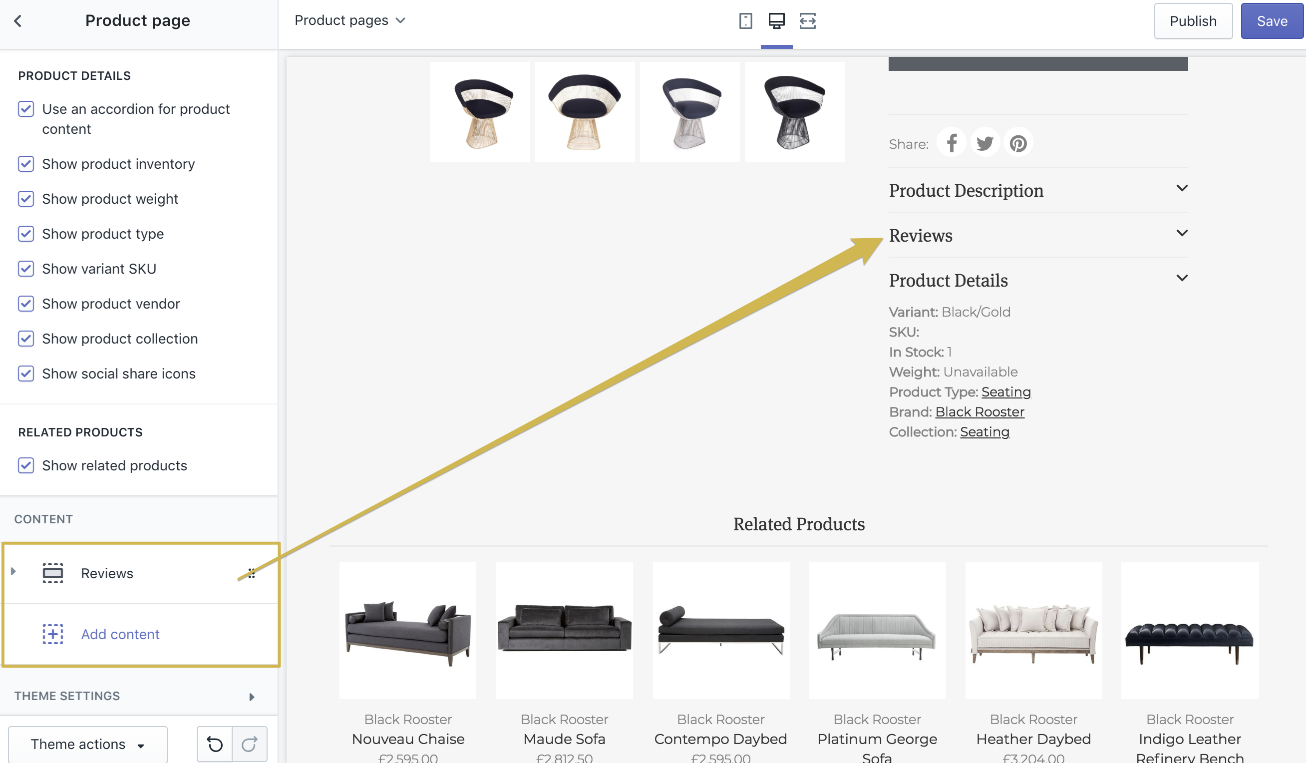 14  Vantage Theme: Setting up the Product Page - We are Underground