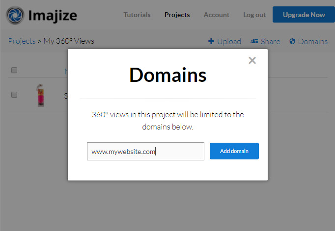 Protecting Your 360 View - Imajize Help Center