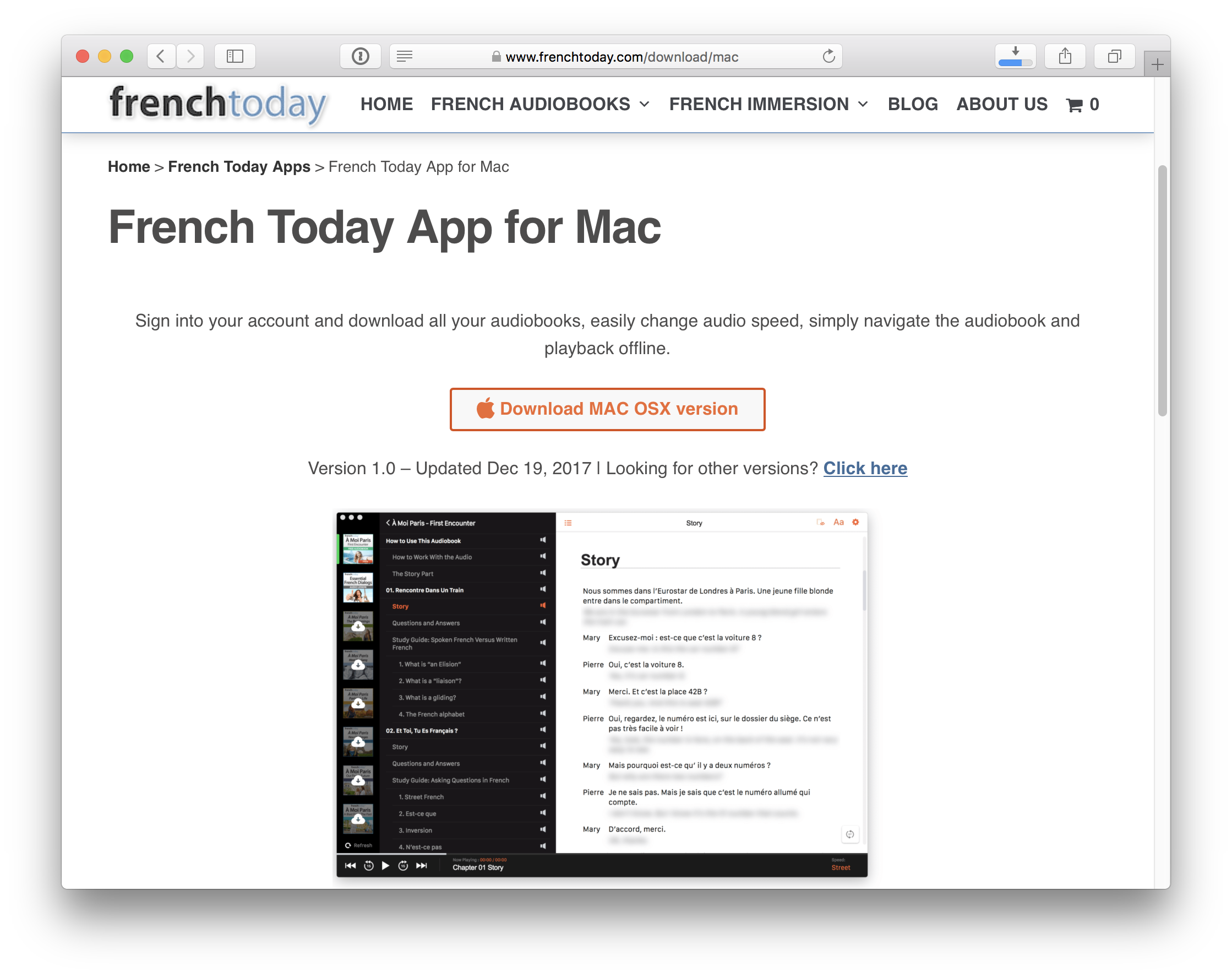 How To Install the French Today Mac OSX App - French Today