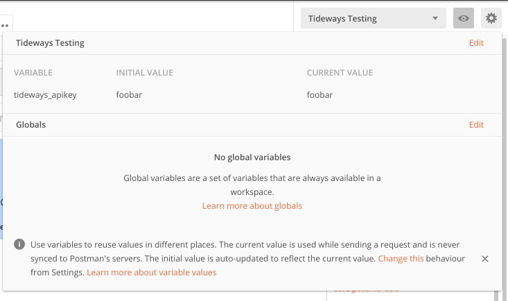 Triggering Traces with Postman - Tideways Knowledge Base