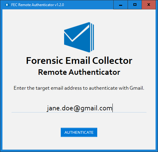 Using FEC Remote Authenticator - Metaspike Knowledge Base