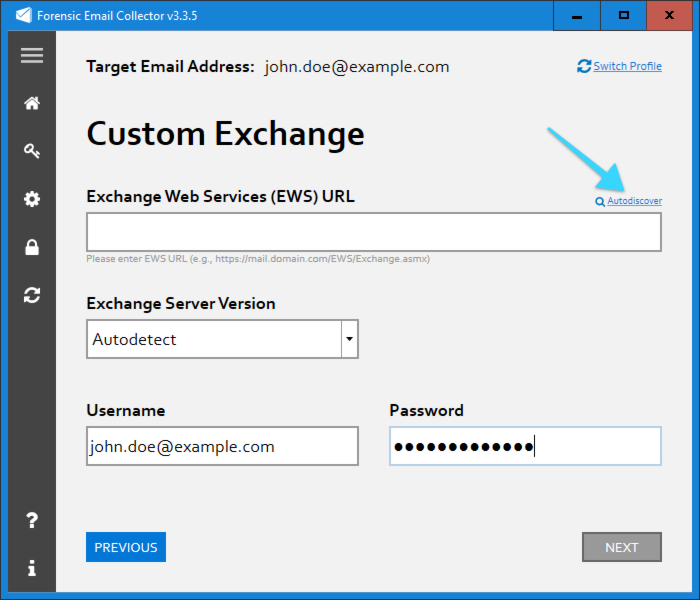 How to Find The Exchange Web Services (EWS) URL - Metaspike