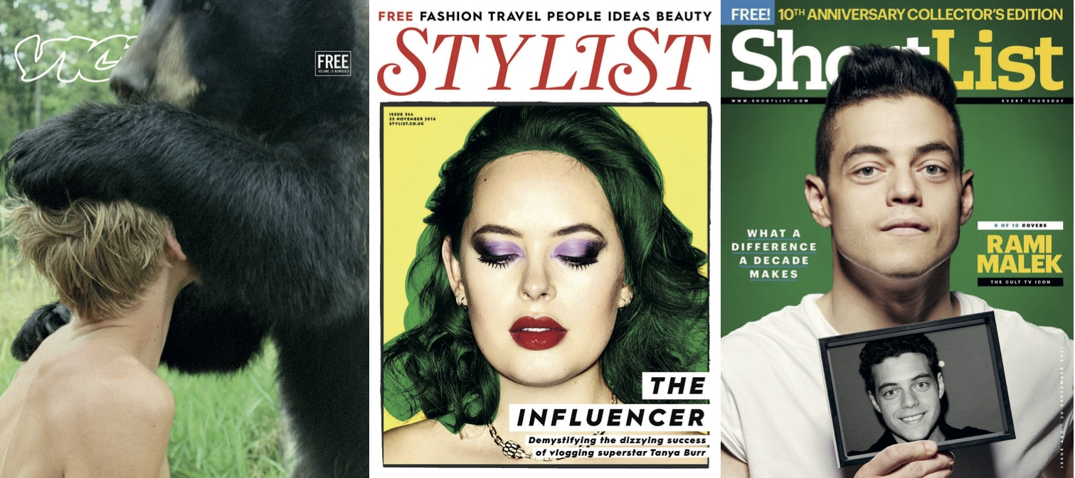 The fashion magazine landscape - Mastered Support