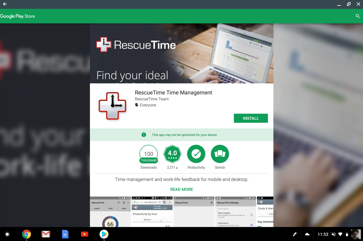 How to get complete RescueTime tracking on your Chromebook - RescueTime