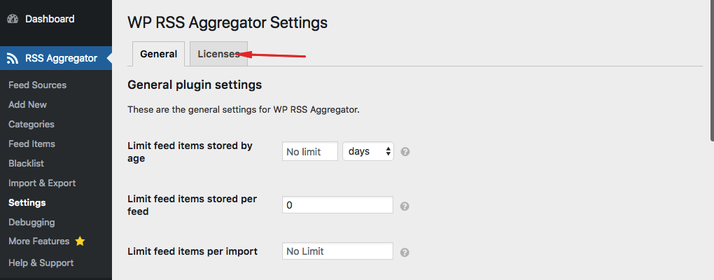 How to Deactivate Your Add-on License - WP RSS Aggregator