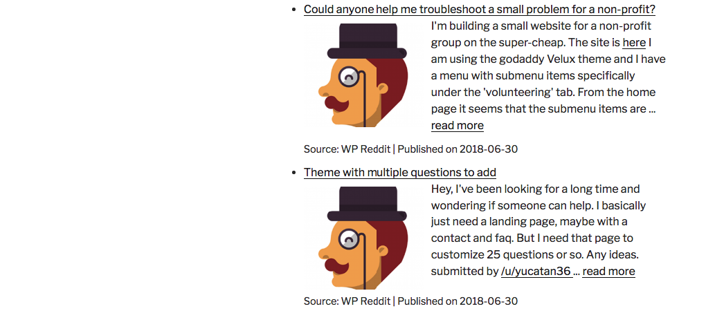 Importing from Reddit Feeds - WP RSS Aggregator Knowledge Base