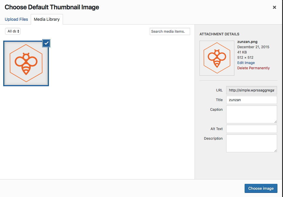 Image Thumbnails when using RSS feeds from SquareSpace - WP RSS