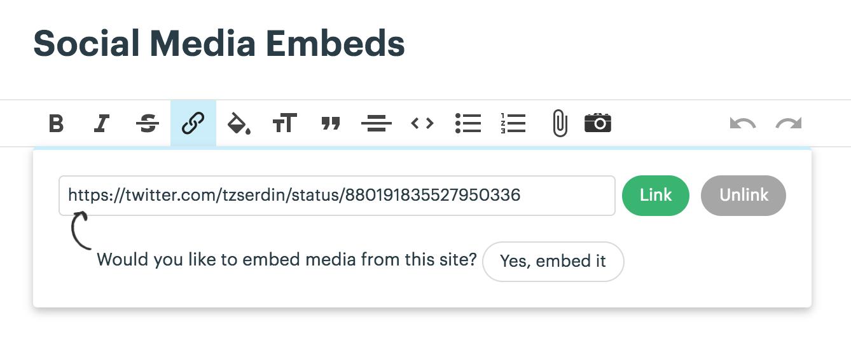 Embedding Outside Content - Basecamp 3 Help