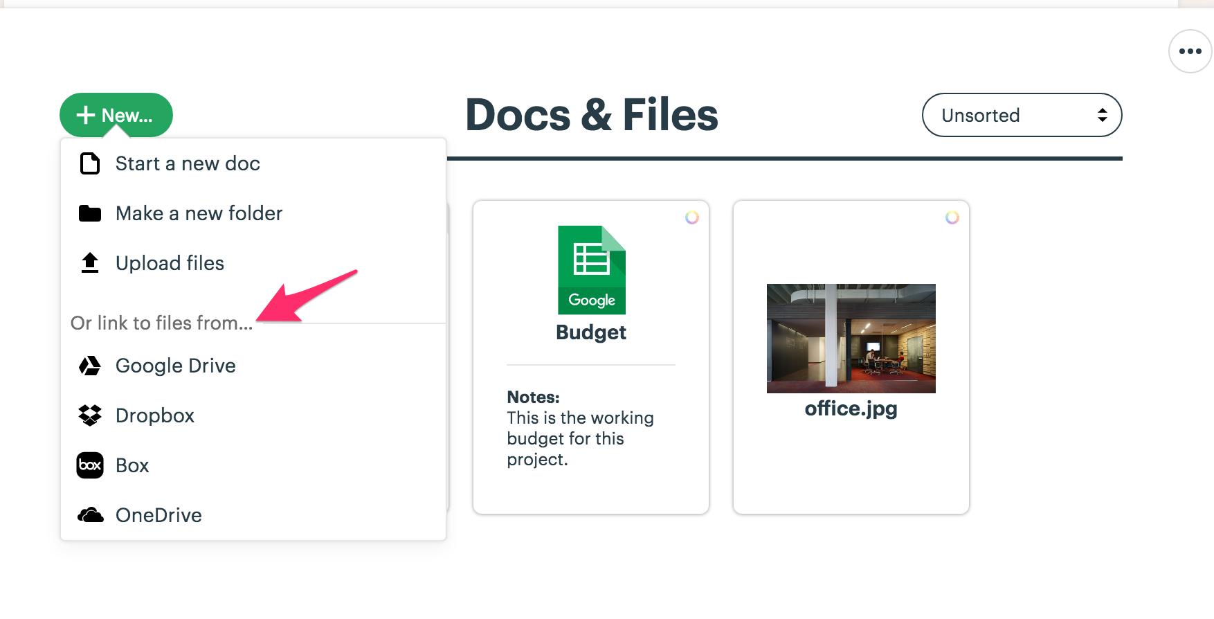 Docs & Files - Basecamp 3 Help