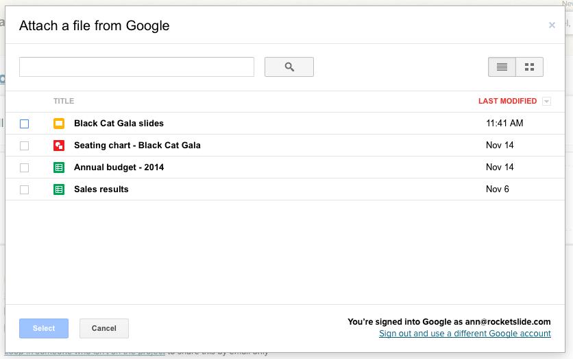 Google Docs - Basecamp 2 Help