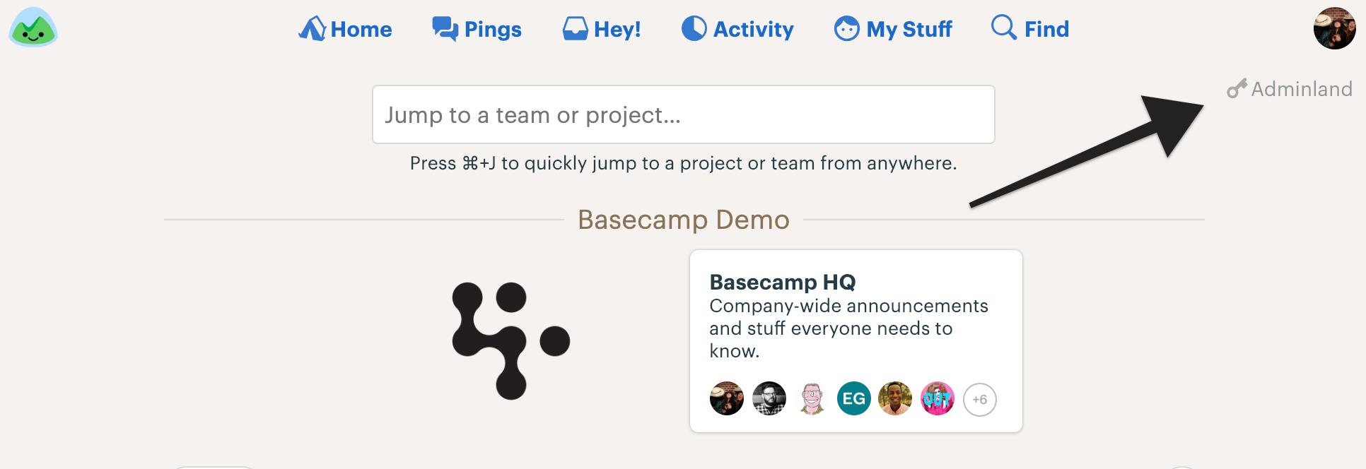 Managing People - Basecamp 3 Help