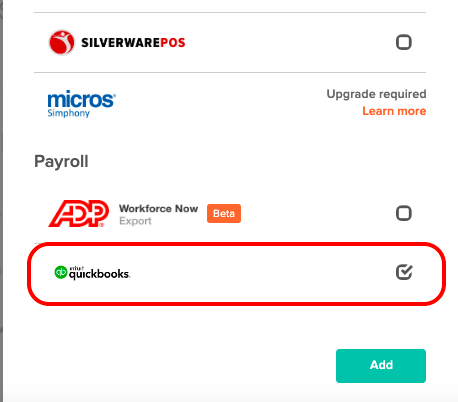 Quickbooks Online Payroll Integration - 7shifts Support