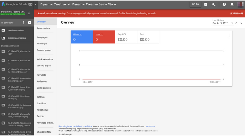 find adwords customer id