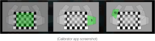 Calibrator app screenshot