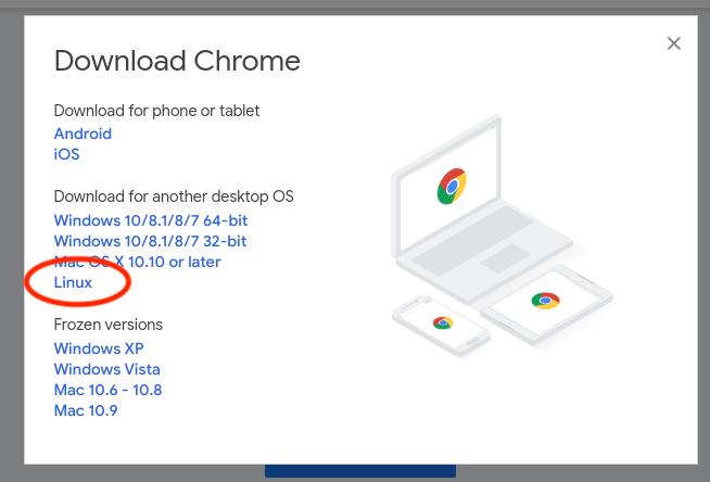 Installing Hunchly on Chromebooks (Chrome OS) - Hunchly Knowledge Base