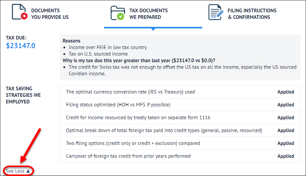 Want To Know Why You Owe Taxes Tfx User Guide