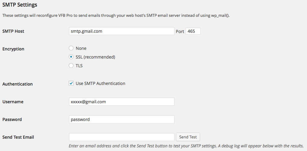Configuring Email to Send Using SMTP - VFB Pro Knowledge Base