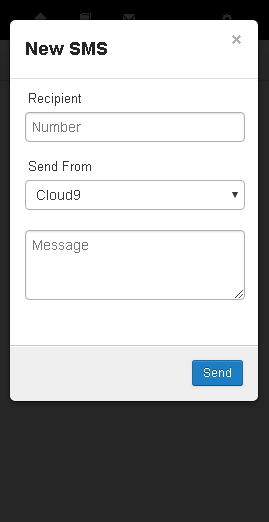 Text Messaging (SMS) - Cloud9 Knowledge Base
